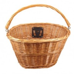 Eleven81 Wicker Handlebar Basket