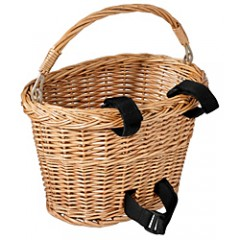 Avenir Wicker Basket with velcro straps