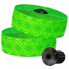 Supacaz Super Sticky Kush Bar Tape Neon Green