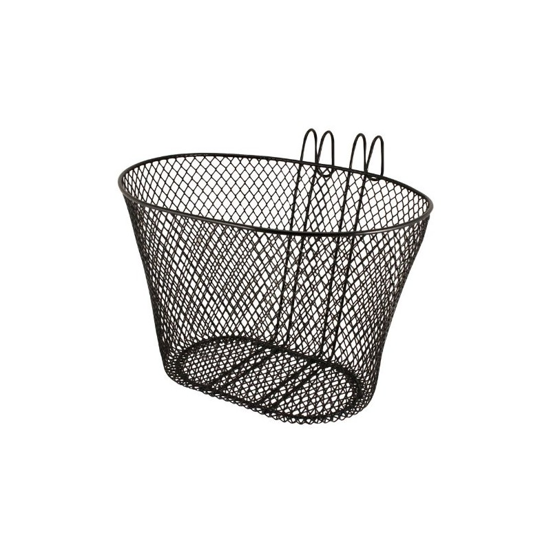 Eleven lift off wire mesh basket i nyc bicycle shop