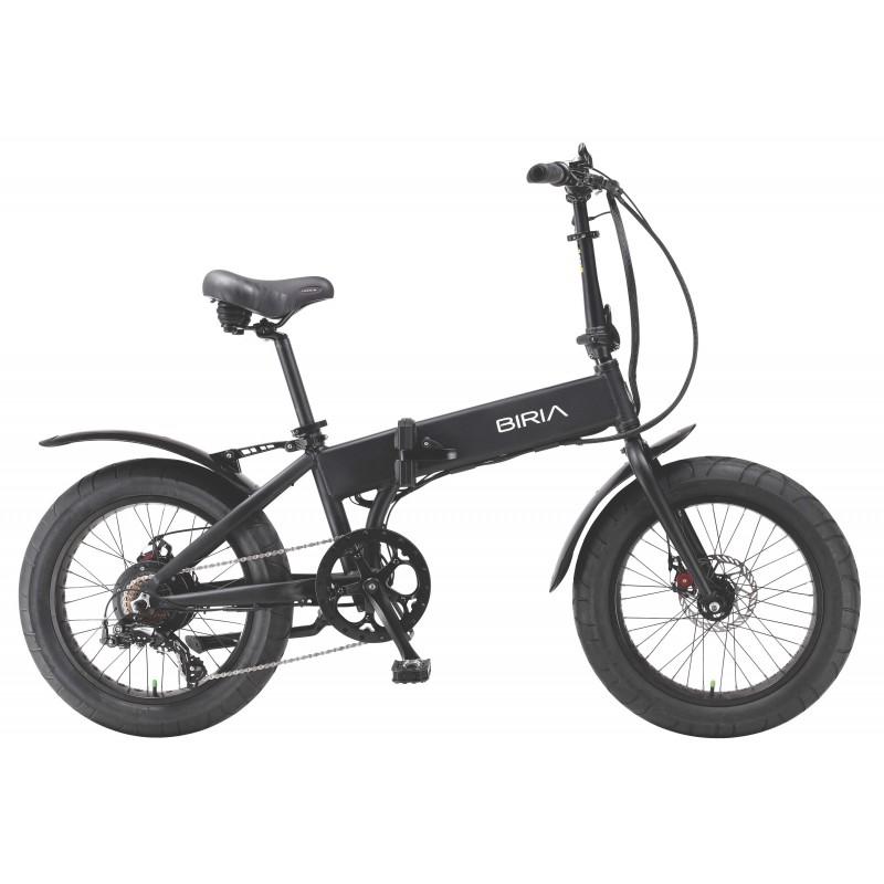 Biria Electric Folding Fat Bike I Nyc Bicycle Shop
